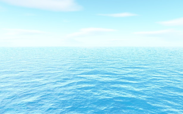 ブルーオーシャン戦略,青い海