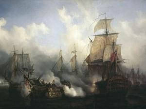 トラファルガーの海戦|イギリス海軍の勝因とフランス・スペイン連合艦隊の敗因